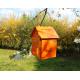 LANTERNE MAISONNETTE ( orange )